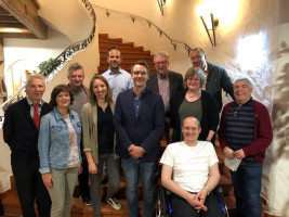Der neue Vorstand des SPD-Ortsvereins Vaterstetten