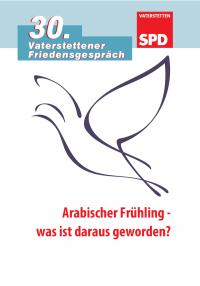Festschrift zum 30. Vaterstettener Friedensgespräch, Seite 1