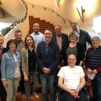 Der neu gewählte Vorstand der Vaterstettener SPD
