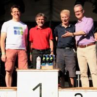 Siegerehrung bei den bei den Bayerischen Triathlon Meisterschaften der Bayerischen Bürgermeister