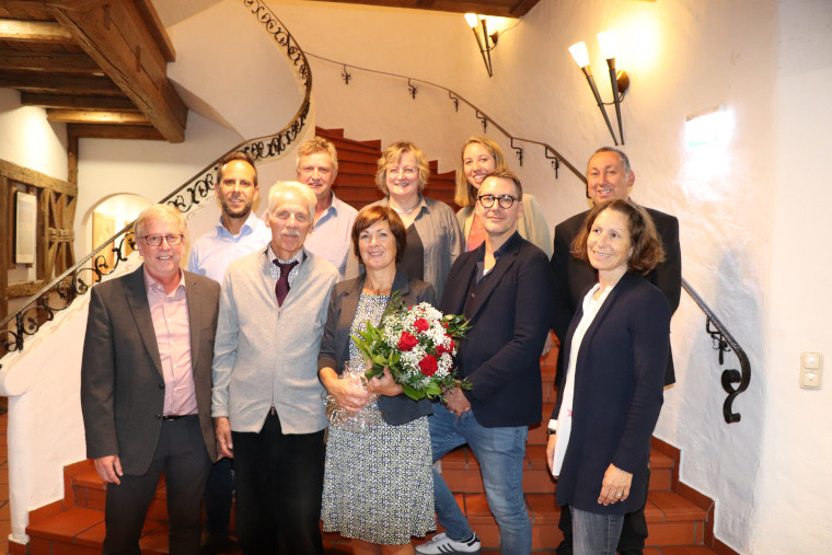 Der Vorstand der SPD Vaterstetten mit unserer Bürgermeisterkandidatin Maria Wirnitzer